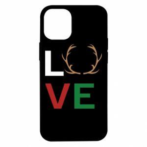 Etui na iPhone 12 Mini Love deer