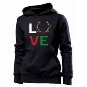 Women's hoodies Love deer