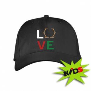 Kids' cap Love deer