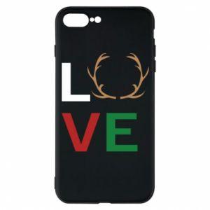 Phone case for iPhone 7 Plus Love deer