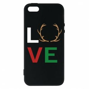 Phone case for iPhone 5/5S/SE Love deer