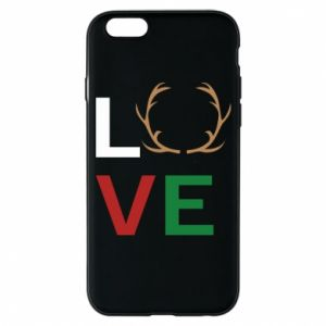 Phone case for iPhone 6/6S Love deer