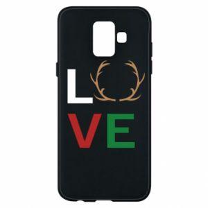 Phone case for Samsung A6 2018 Love deer