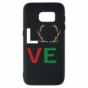 Phone case for Samsung S7 Love deer