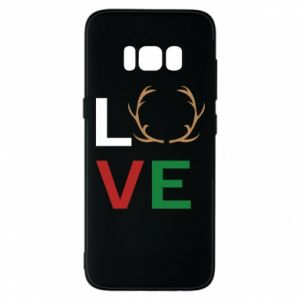 Phone case for Samsung S8 Love deer