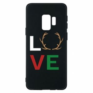 Phone case for Samsung S9 Love deer