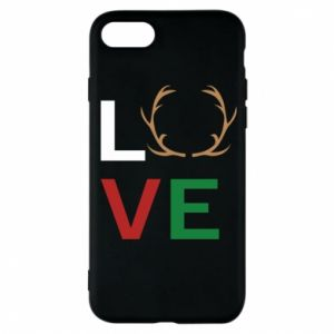 Phone case for iPhone 8 Love deer