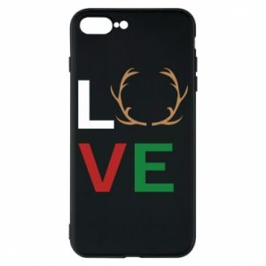 Phone case for iPhone 8 Plus Love deer
