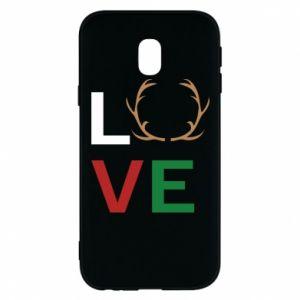 Phone case for Samsung J3 2017 Love deer