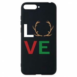 Phone case for Huawei Y6 2018 Love deer