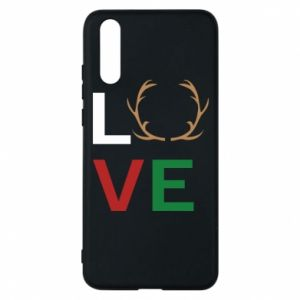 Phone case for Huawei P20 Love deer