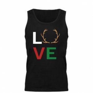 Men's t-shirt Love deer