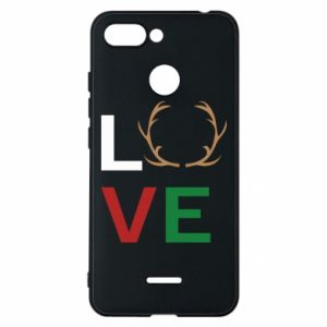 Phone case for Xiaomi Redmi 6 Love deer