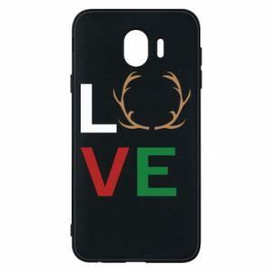 Phone case for Samsung J4 Love deer