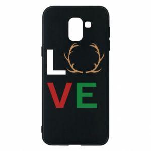 Phone case for Samsung J6 Love deer