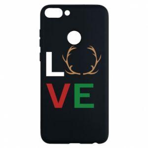 Phone case for Huawei P Smart Love deer