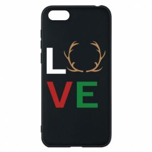 Phone case for Huawei Y5 2018 Love deer