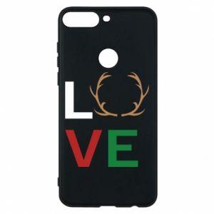 Phone case for Huawei Y7 Prime 2018 Love deer