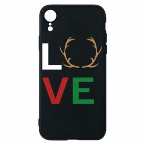 Phone case for iPhone XR Love deer