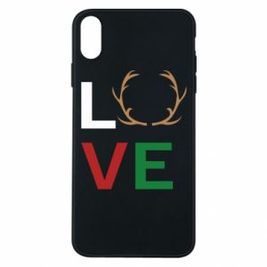 Phone case for iPhone Xs Max Love deer