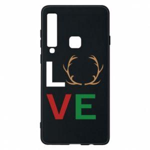 Phone case for Samsung A9 2018 Love deer