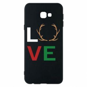 Phone case for Samsung J4 Plus 2018 Love deer