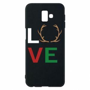 Phone case for Samsung J6 Plus 2018 Love deer
