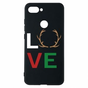 Phone case for Xiaomi Mi8 Lite Love deer