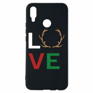 Phone case for Huawei P Smart Plus Love deer