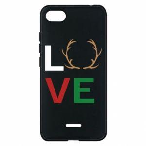 Phone case for Xiaomi Redmi 6A Love deer