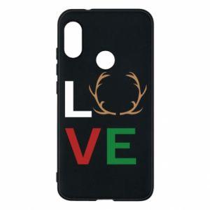 Phone case for Mi A2 Lite Love deer