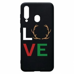 Phone case for Samsung A60 Love deer