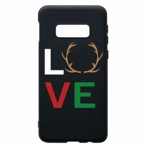 Phone case for Samsung S10e Love deer