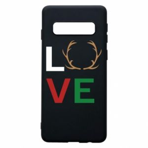 Phone case for Samsung S10 Love deer
