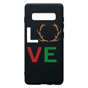 Phone case for Samsung S10+ Love deer