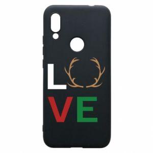 Phone case for Xiaomi Redmi 7 Love deer