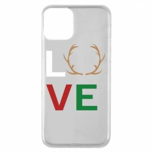 Phone case for iPhone 11 Love deer