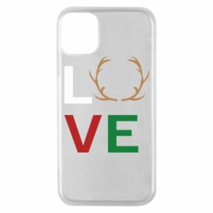 Phone case for iPhone 11 Pro Love deer