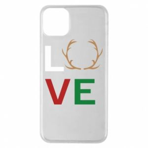 Phone case for iPhone 11 Pro Max Love deer