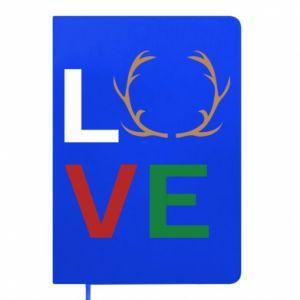 Notepad Love deer