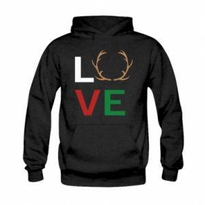 Bluza z kapturem dziecięca Love deer