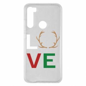 Etui na Xiaomi Redmi Note 8 Love deer