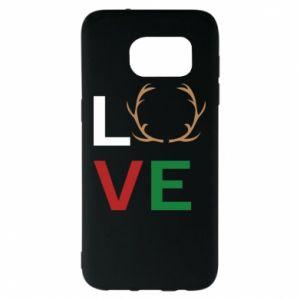 Etui na Samsung S7 EDGE Love deer