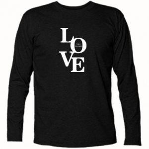 Koszulka z długim rękawem Love is all you need