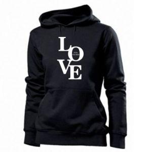 Bluza damska Love is all you need