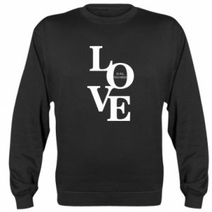 Bluza (raglan) Love is all you need