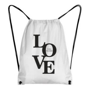 Plecak-worek Love is all you need
