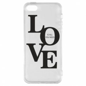 Etui na iPhone 5/5S/SE Love is all you need