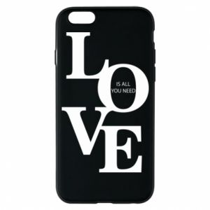 Etui na iPhone 6/6S Love is all you need