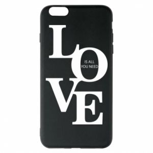 Etui na iPhone 6 Plus/6S Plus Love is all you need